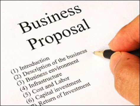Objectives of business plan proposal